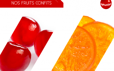 Our range of candied fruits